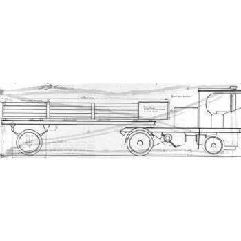 Trailer For Clayton Wagon M37