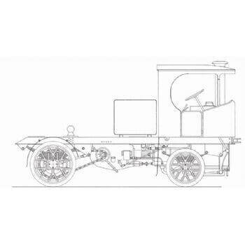 Clayton Steam Wagon M35 Plan