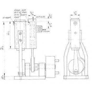 Small Marine Steam Engine M33