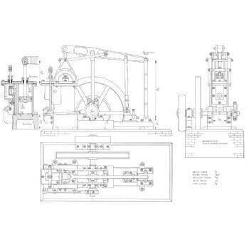 Grasshopper Beam Engine M26 Plan
