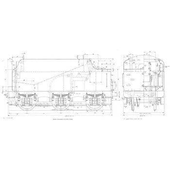 Stanier 4000 Gallon Tender LO946