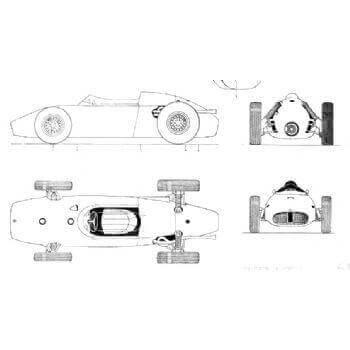 BRM F1 1960 MM615