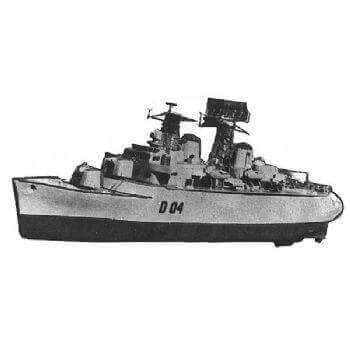 Devonshire HMS MM720