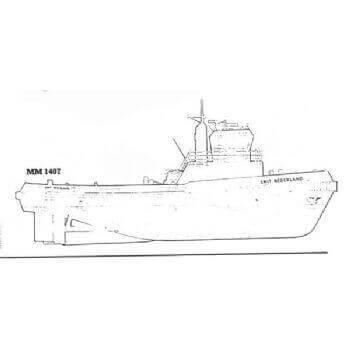 Smit Nederland MM1407 Tug Plan