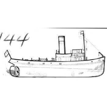 HS Type Tug MM1144 Plan