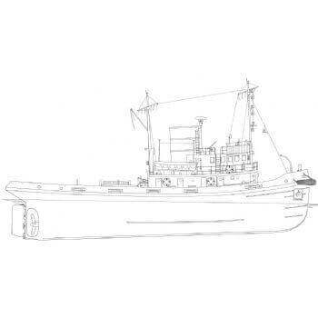 Moorcock 1-24Th PB25A Tug Plan