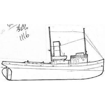 Gondia MM1116 Tug Plan