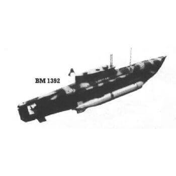 Molch & Hecht BM1392 Submarine Plan