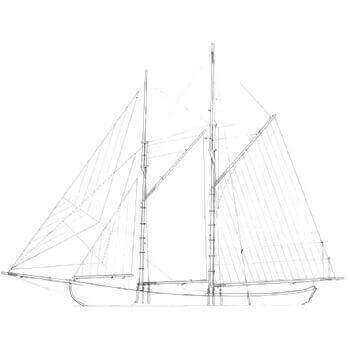 Grand Banks Schooner Plan