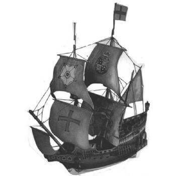 Golden Hind SY2 Static Sail Plan