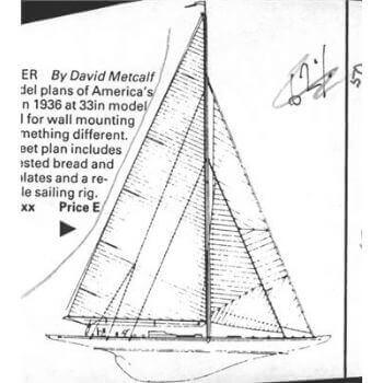 Ranger MM1403 Static Sail Plan