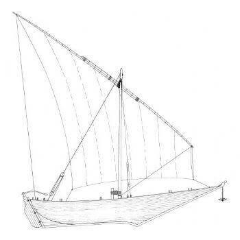 Mashwa MM1300 Static Sail Plan
