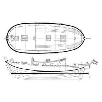 Dutch Yacht MM1203 Static Sail Plan