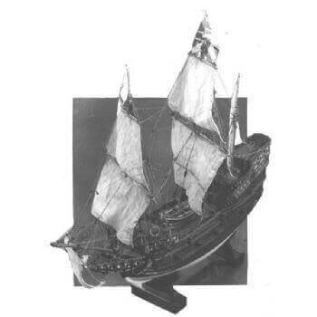 Mayflower MM444 Static Sail Plan