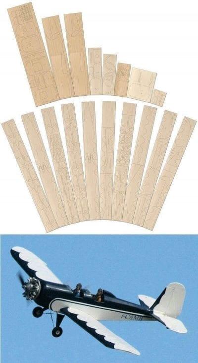 Aerolab Locamp - Plan & Laser Cut Wood Pack Set