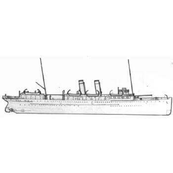 Victoria TSS MM1172 Steam Passenger Ferry Plan