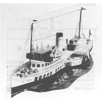 Talisman Paddle Ship MM1273 Plan