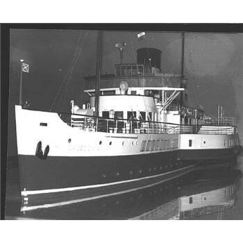 Caledonia Paddle Ship MM1366 Plan