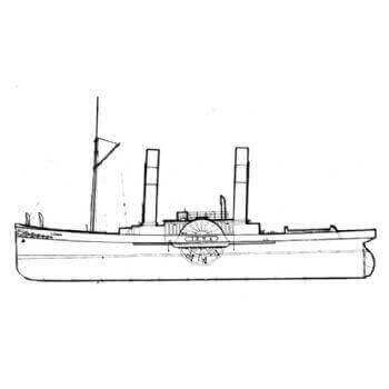 Iona Paddle Tug MM1374 Plan