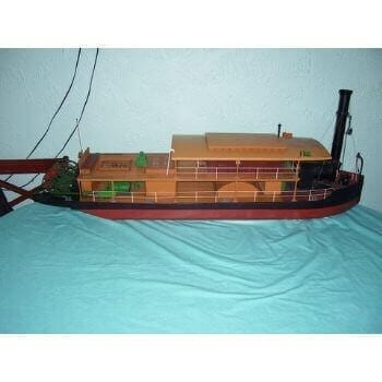 Zulu Paddle Ship MM1329 Plan