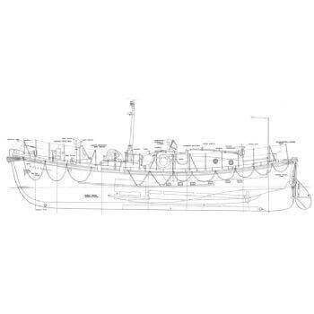 RNLB Plymouth MM418 Plan
