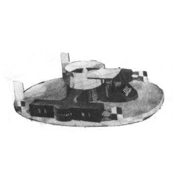 SRN 1 Hovercraft MM583 Plan