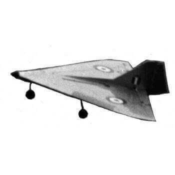 Delta 362 Model Aircraft Plan (RC1224)