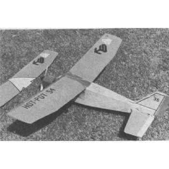 Hot Pot 54 Model Aircraft Plan (RC1288)