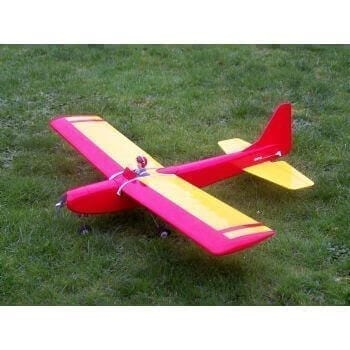 Super Tauri Model Aircraft Plan (RC857)