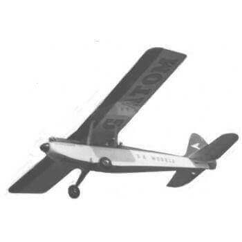 Barnstormer 72 Model Aircraft Plan (RC1118)