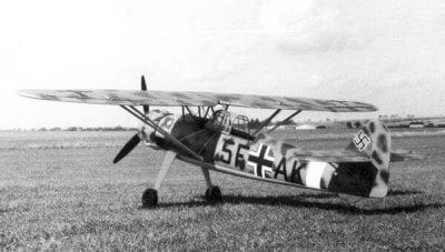 "Henschel He 126A-1 (77"") SET (Plan, canopy, spinner set and lasercut woodpack)"