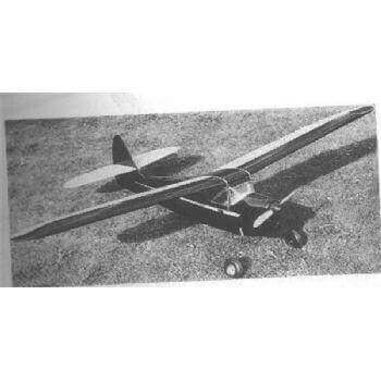 Black Beauty Model Aircraft Plan (RC1466)
