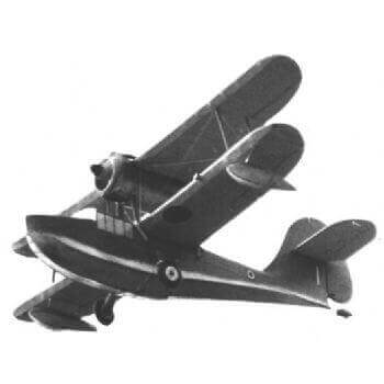 Supermarine Sea Otter Model Aircraft Plans (RC1281)