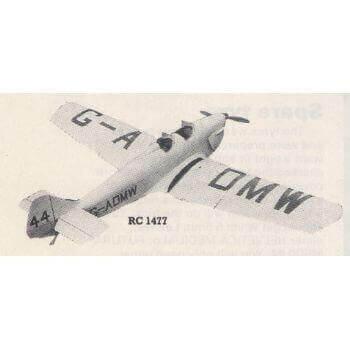 Miles Hawk Major Model Aircraft Plan (RC1477)