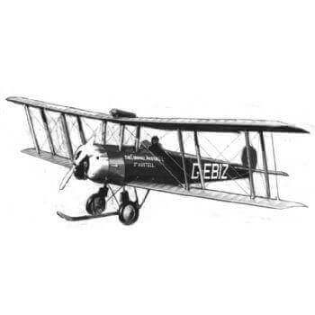 Avro 504K Model Aircraft Plan (RC1420)