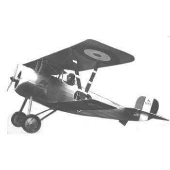 Nieuport 24 Model Aircraft Plan (RC1384)
