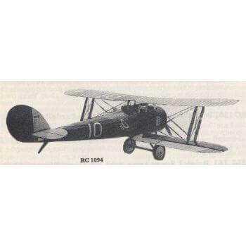Nieuport 28 Model Aircraft Plan (RC1094)