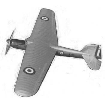 Fairey Long Range Monoplane Model Aircraft Plan (RC1497)