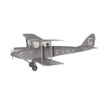 D.H. 60 Gypsy Moth Model Aircraft Plan (RC135)