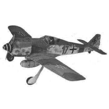 Focke Wulf FW190 Plan
