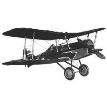 RAF SE5A Model Aircraft Plan (RC1415)