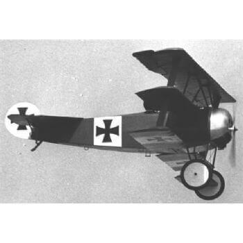 Fokker Dr.1 Triplane Model Aircraft Plan (RC1213)