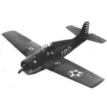 Grumman Wildcat Model Aircraft Plan (RC1312)