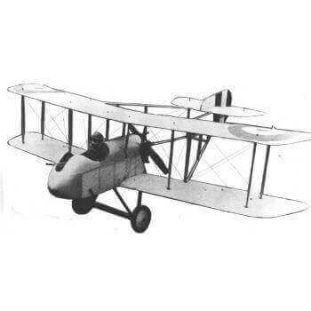 D.H.2 Model Aircraft Plan (RC1245)