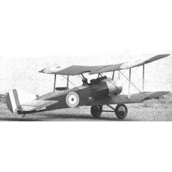 Sopwith Pup Model Aircraft Plan (RC990)