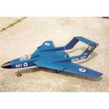 DH Sea Vixen Plan