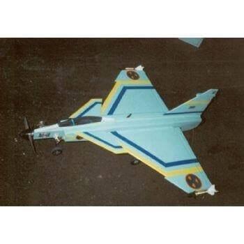 RC1355 - SAAB Draken