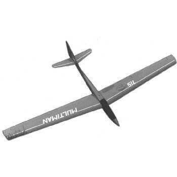 Multiman Model Aircraft Plan (RC1446)