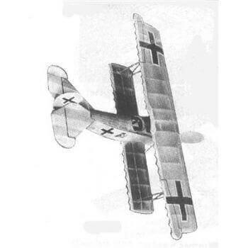 Fokker DVII Plan FSR297