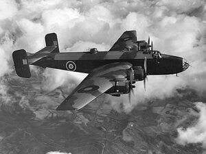 Handley Page Halifax Plan FSR140